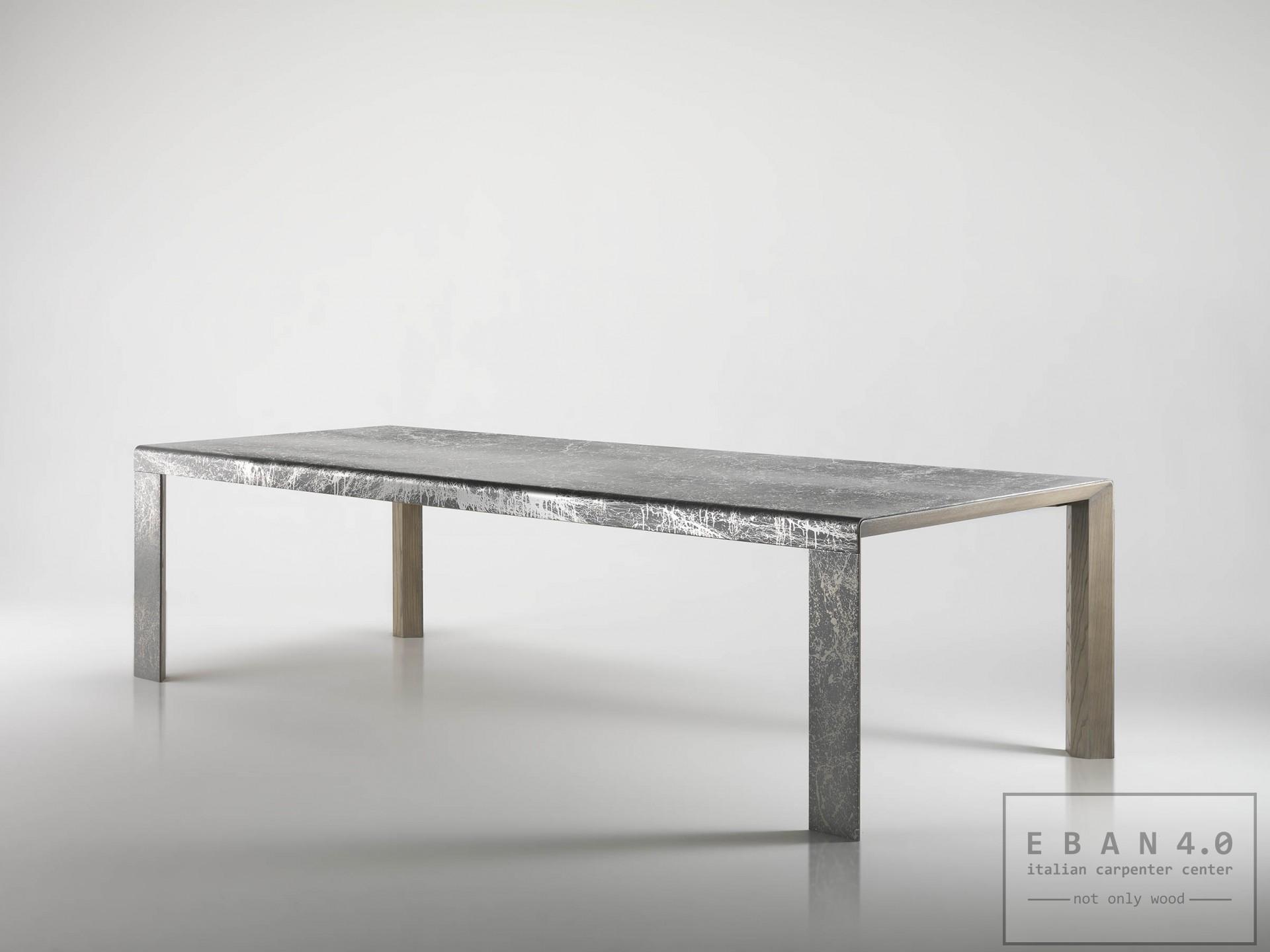 Tavolo Bend Tavolo Fisso In Alluminiodim 300 X 110 H 77